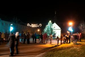 Rozsvícení Vánočního stromečku 2017